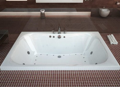 Atlantis Neptune 4060 2-Person Rectangular Jetted Bathtub