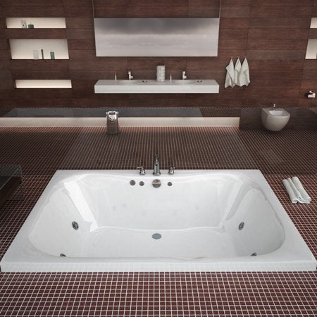Atlantis Neptune 4860 2-Person Rectangular Jetted Bathtub