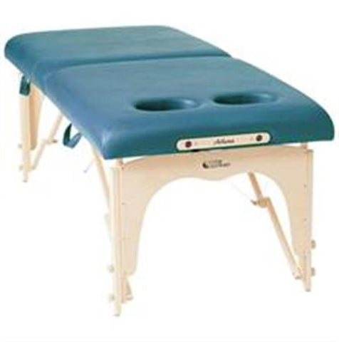 "Custom Craftworks Athena 30"" w/Breast Recesses Portable Massage Table"