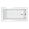 "Image of Atlantis Venetian 60"" x 36"" Rectangular White Jetted Spa Bathtub"