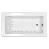 "Image of Atlantis Venetian 60"" x 32"" Rectangular White Jetted Spa Bathtub"