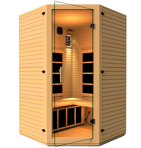 Vivo 2-3 Person Corner Infrared Sauna