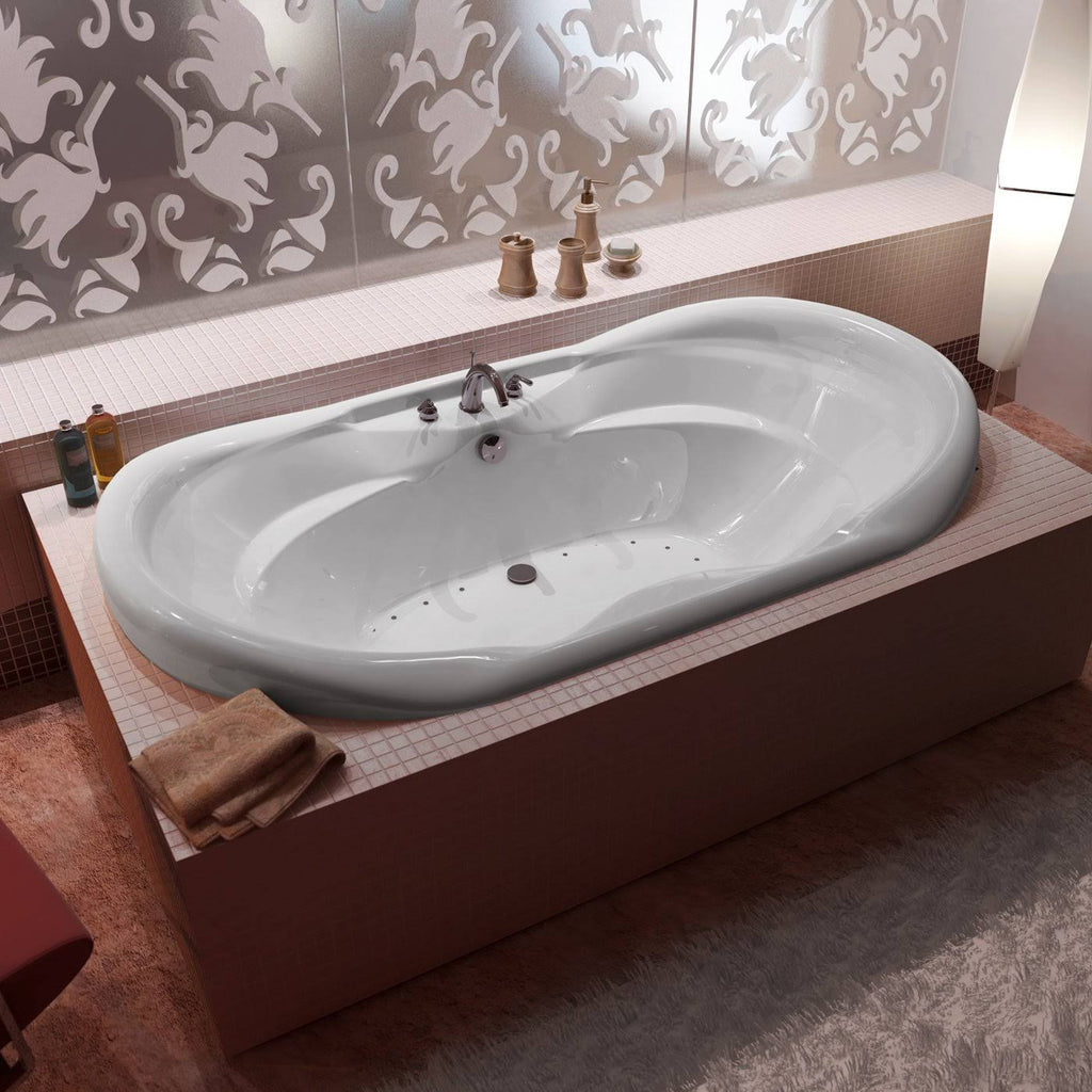 Atlantis 4170 Indulgence Oval Drop-In Jetted Bathtub – The Modern Spa