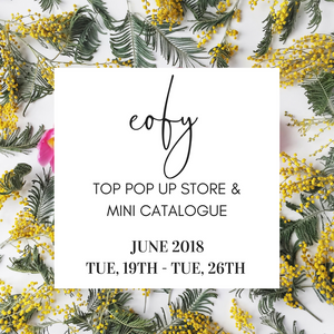 EOFY Top Pop Up + Mini Catalogue 2018