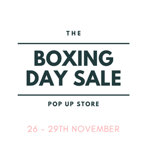 BOXING DAY SALES POP UP STORE