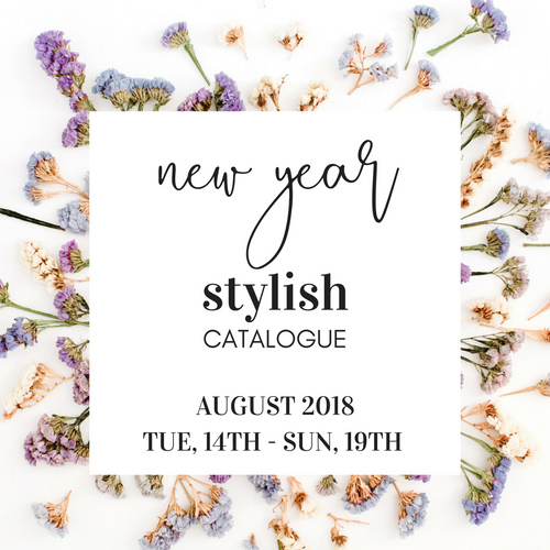Shop The Look Feature - STYLISH New Year 2018 Catalogue
