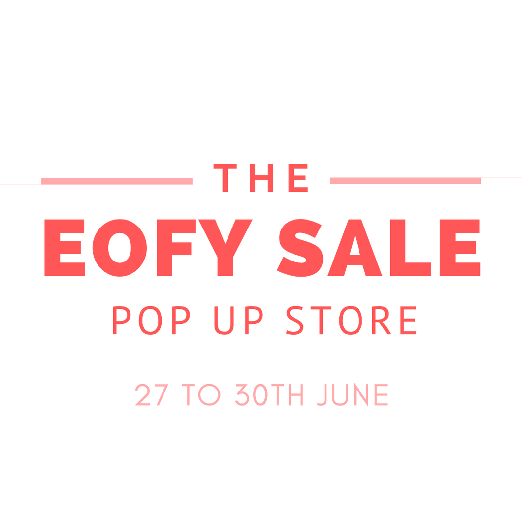 EOFY SALE POP UP STORE