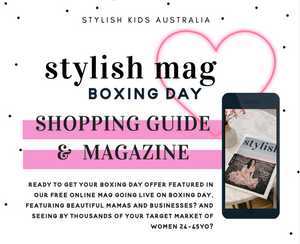 BOXING DAY SALES  - **Shopping Guide**