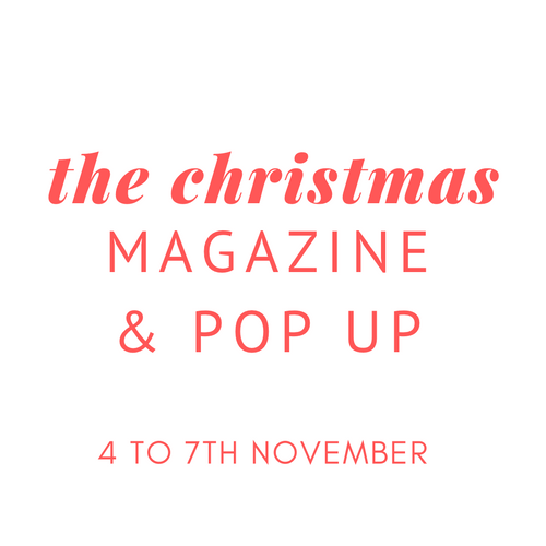 CHRISTMAS POP UP STORE & MAGAZINE