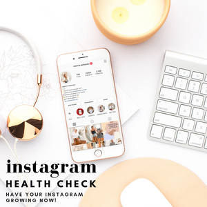 Instagram Health Check