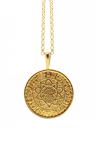 THE MOROCCO Coin Necklace