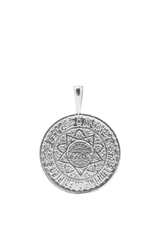 THE MOROCCO Coin Pendant in Silver