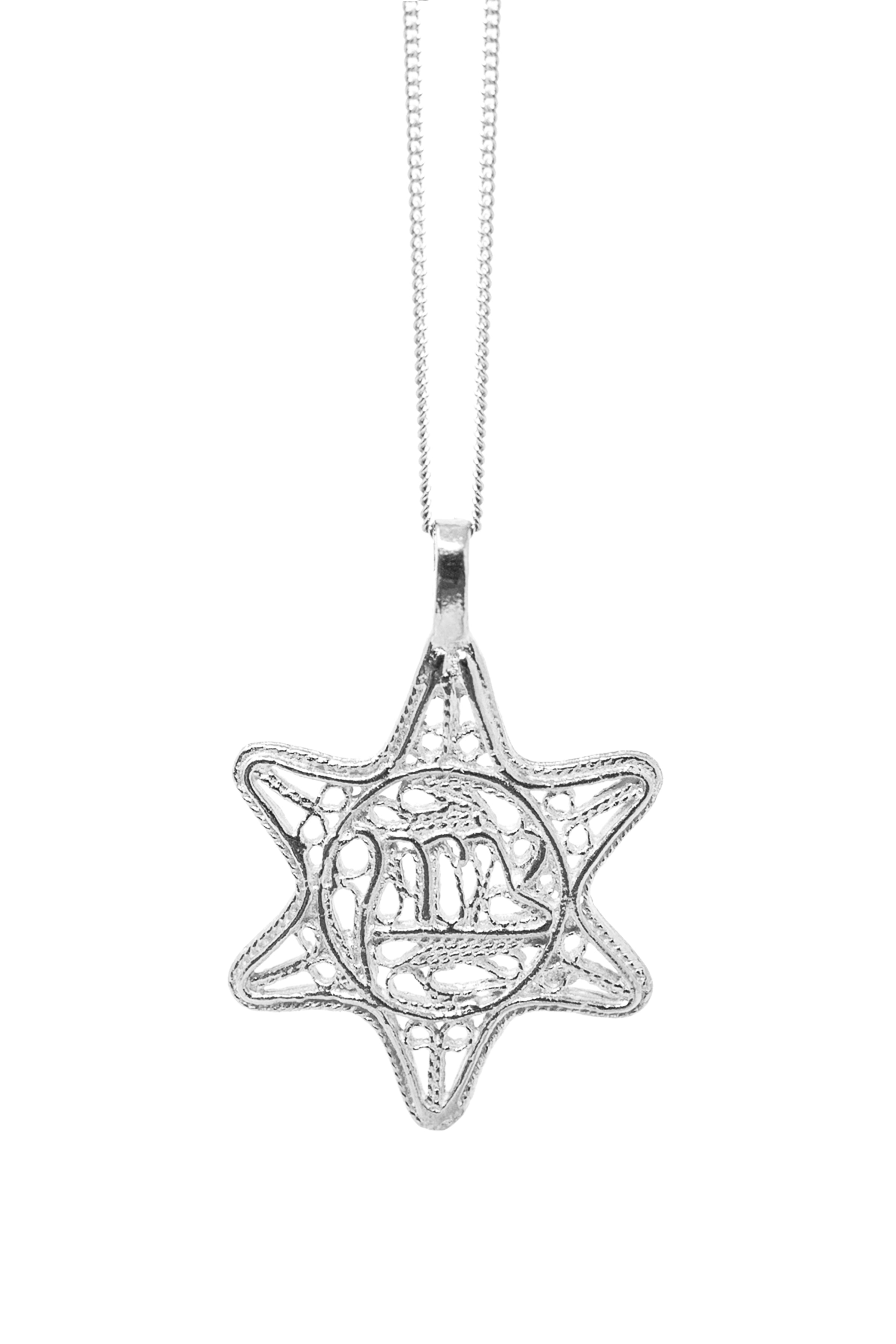 THE STAR of David Filigree Necklace