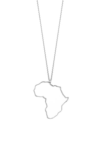 THE AFRICA Necklace in Silver
