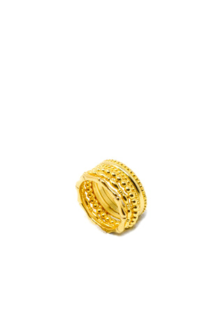 THE GHANA Crest Signet Ring II