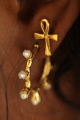THE ANKH Stud Earrings