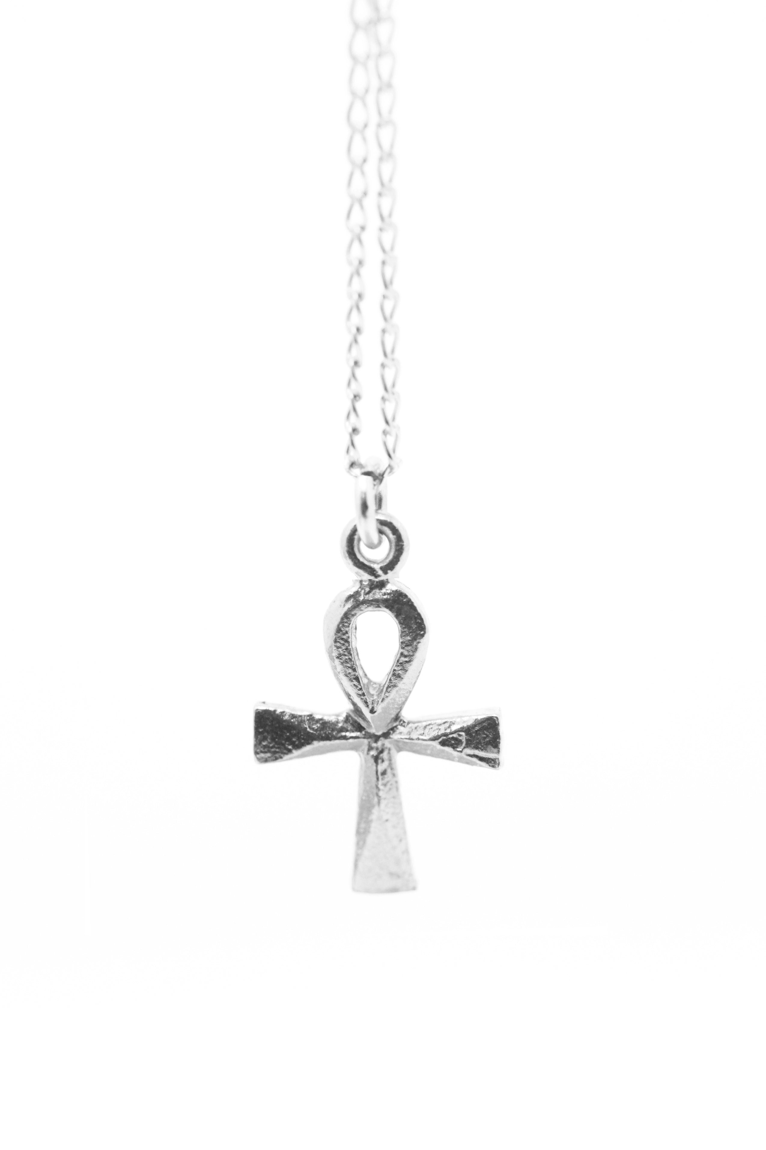 THE ANKH Necklace Sterling Silver