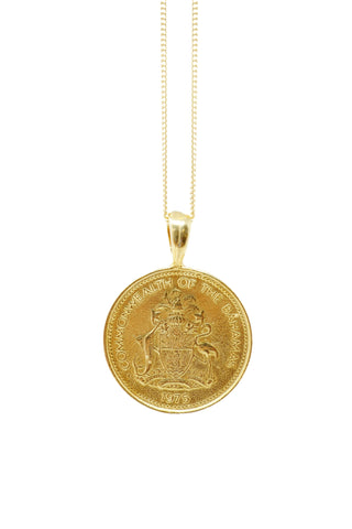 THE GUINEA Coin Necklace