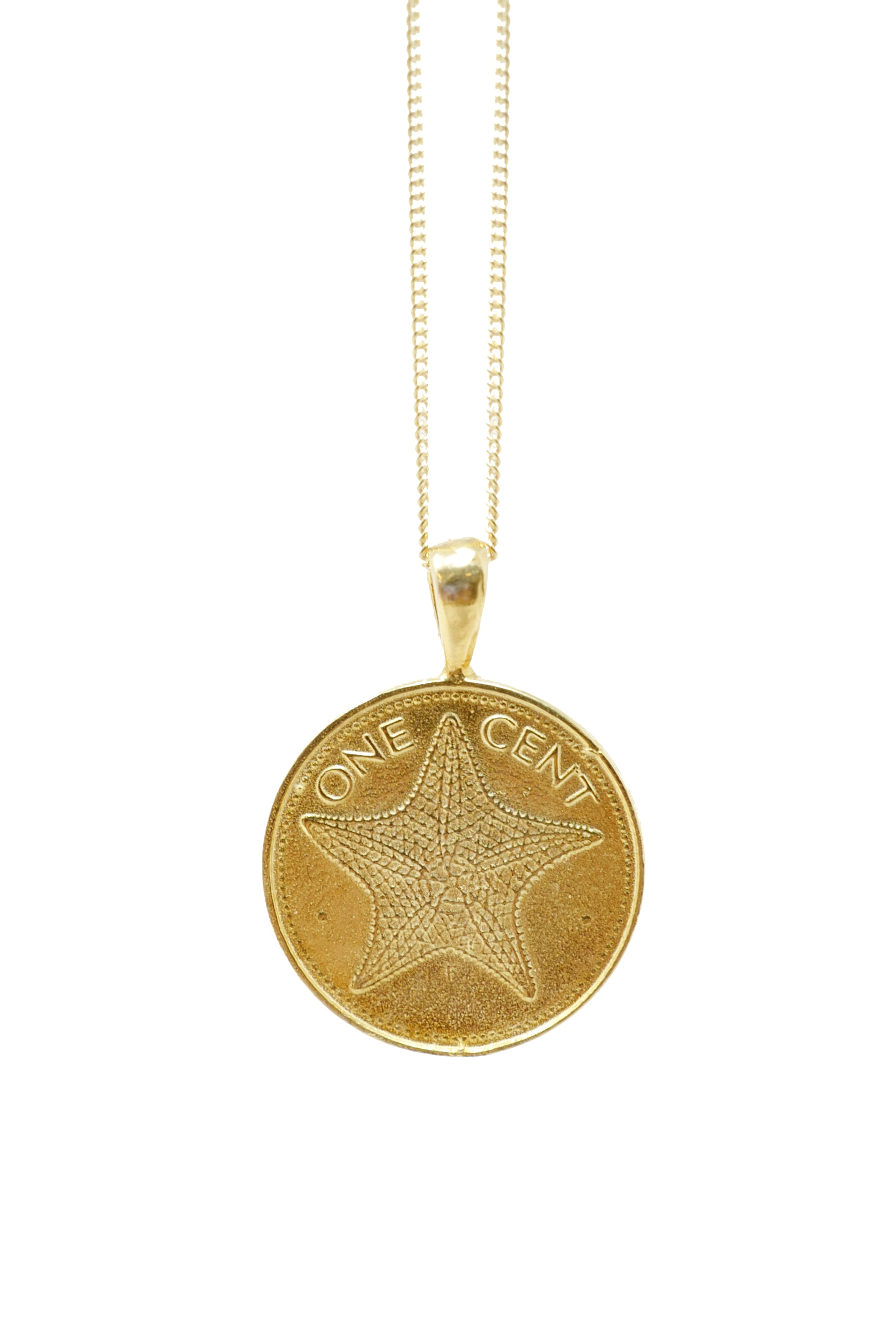 The BAHAMAS Starfish Coin Necklace