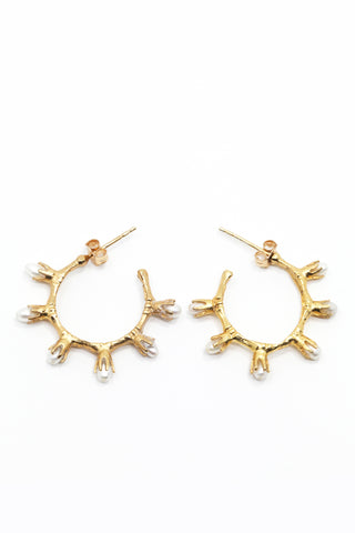 THE GOLD NUGGET Stud Earrings