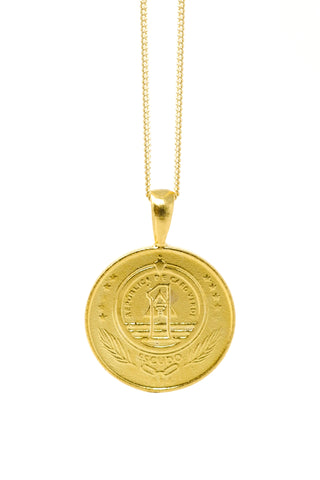 THE WEST African Coin Necklace