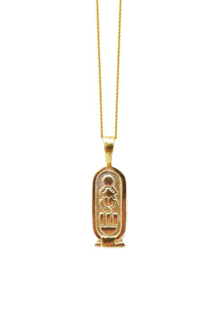 THE CARTOUCHE I Necklace