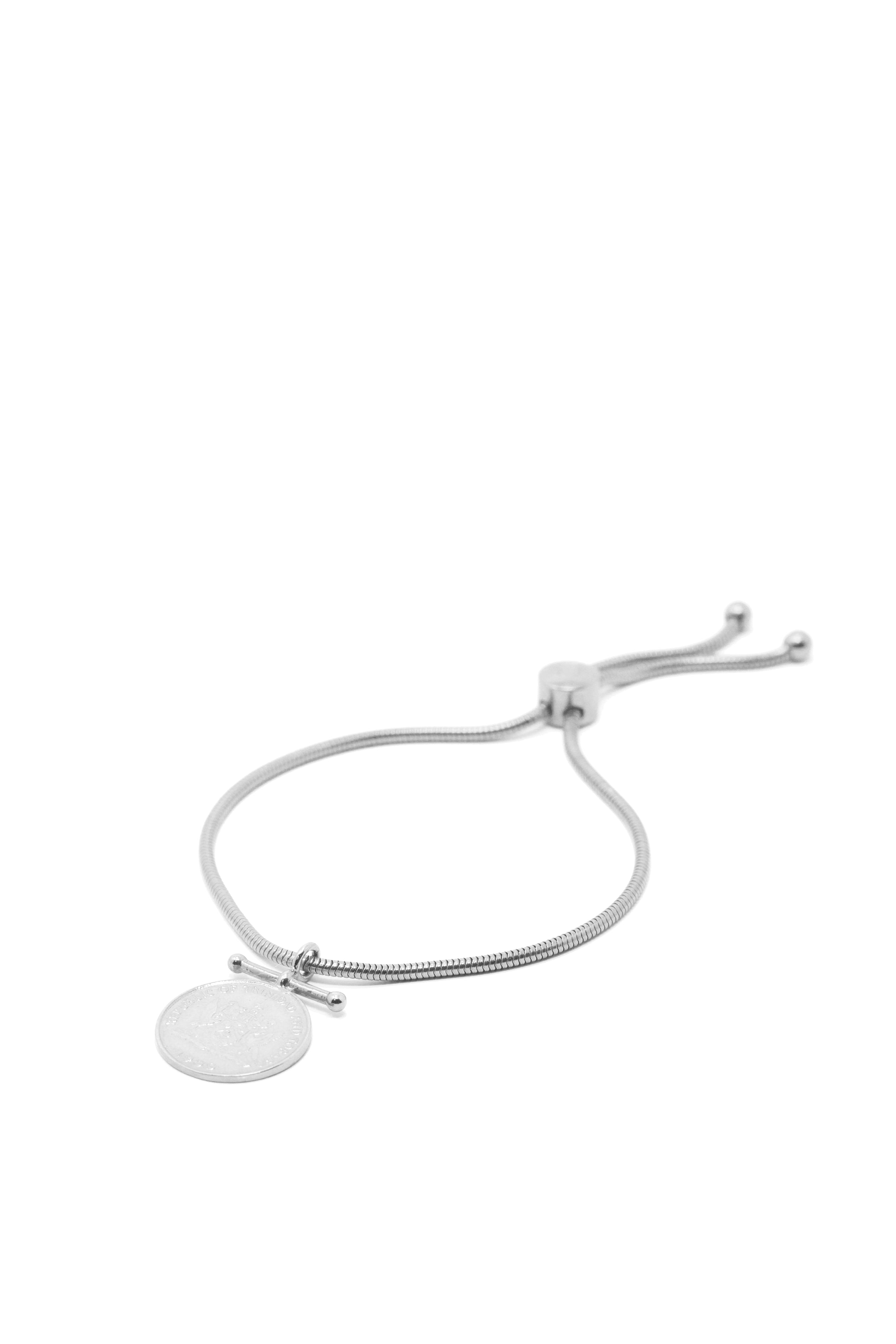 THE DRIP Charm Bracelet with Coin