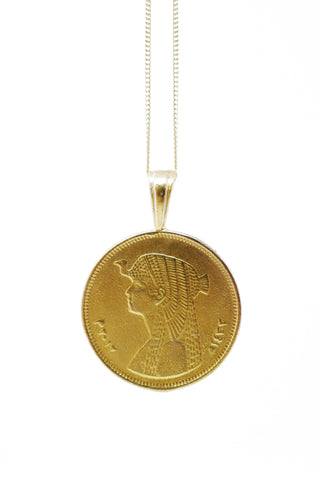 THE ERITREA Leopard Coin Necklace