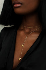 THE COWRIE Infinity Necklace
