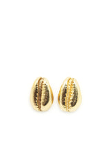 THE COWRIE Stud Earrings Sterling Silver