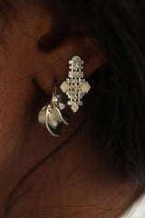 THE CLASSIC Fula Earrings Sterling Silver