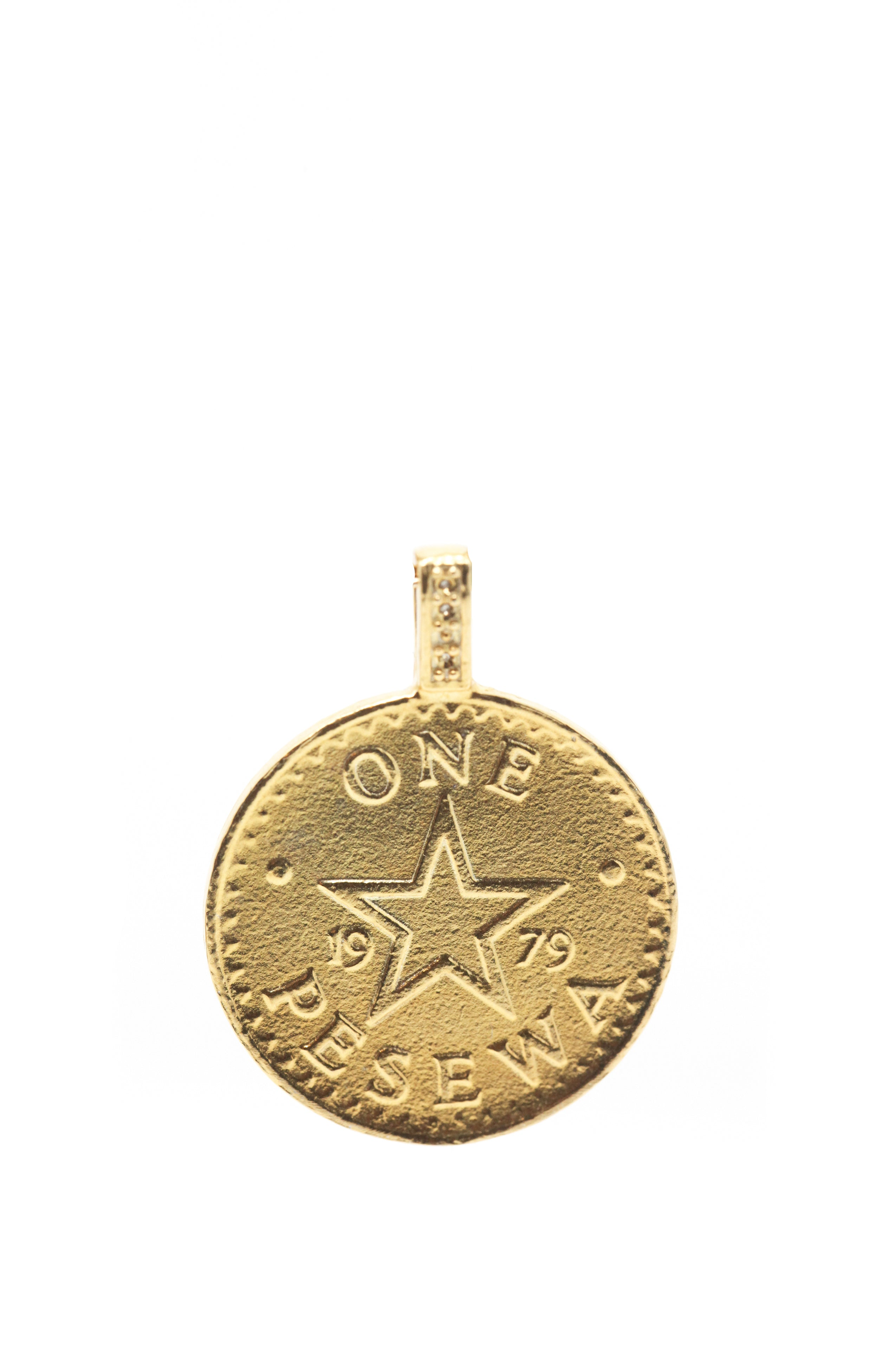 THE GHANA Talking Drum Coin Pendant