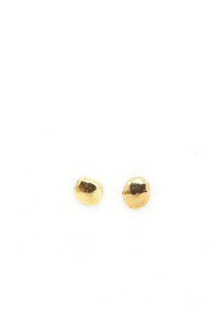 THE SILVER NUGGET Stud Earrings Sterling Silver