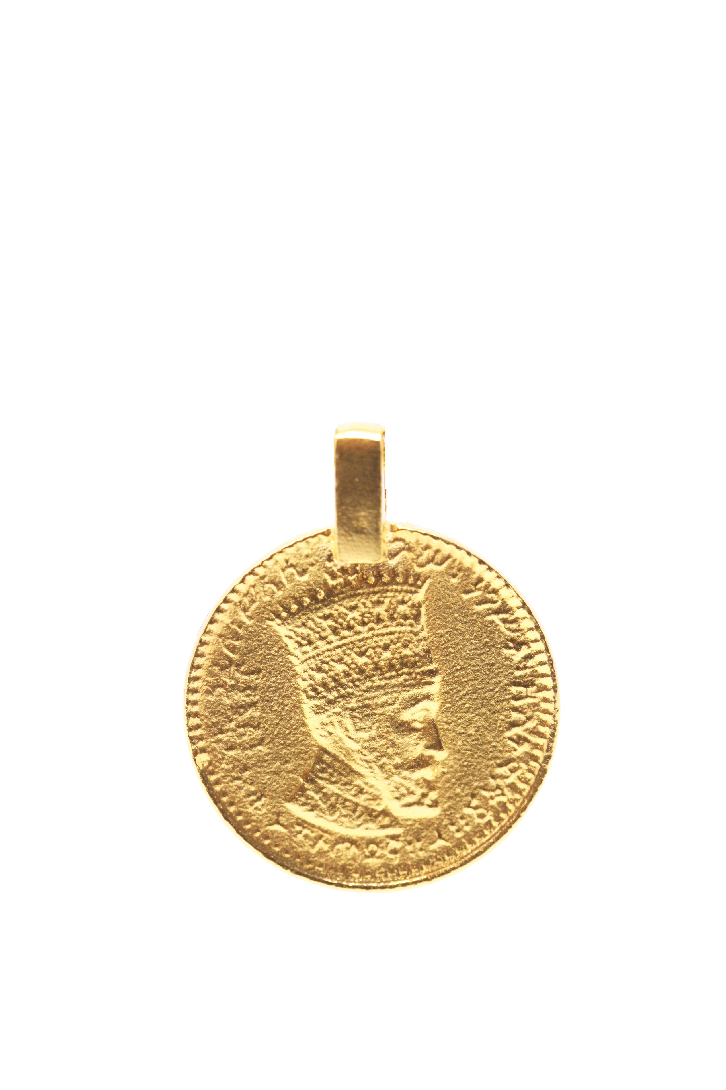 THE RAS TAFARI Coin Pendant