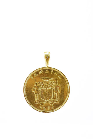 THE JAMAICAN Ackee Coin Pendant