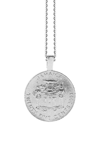 THE JAMAICA Garveyite Necklace in Silver