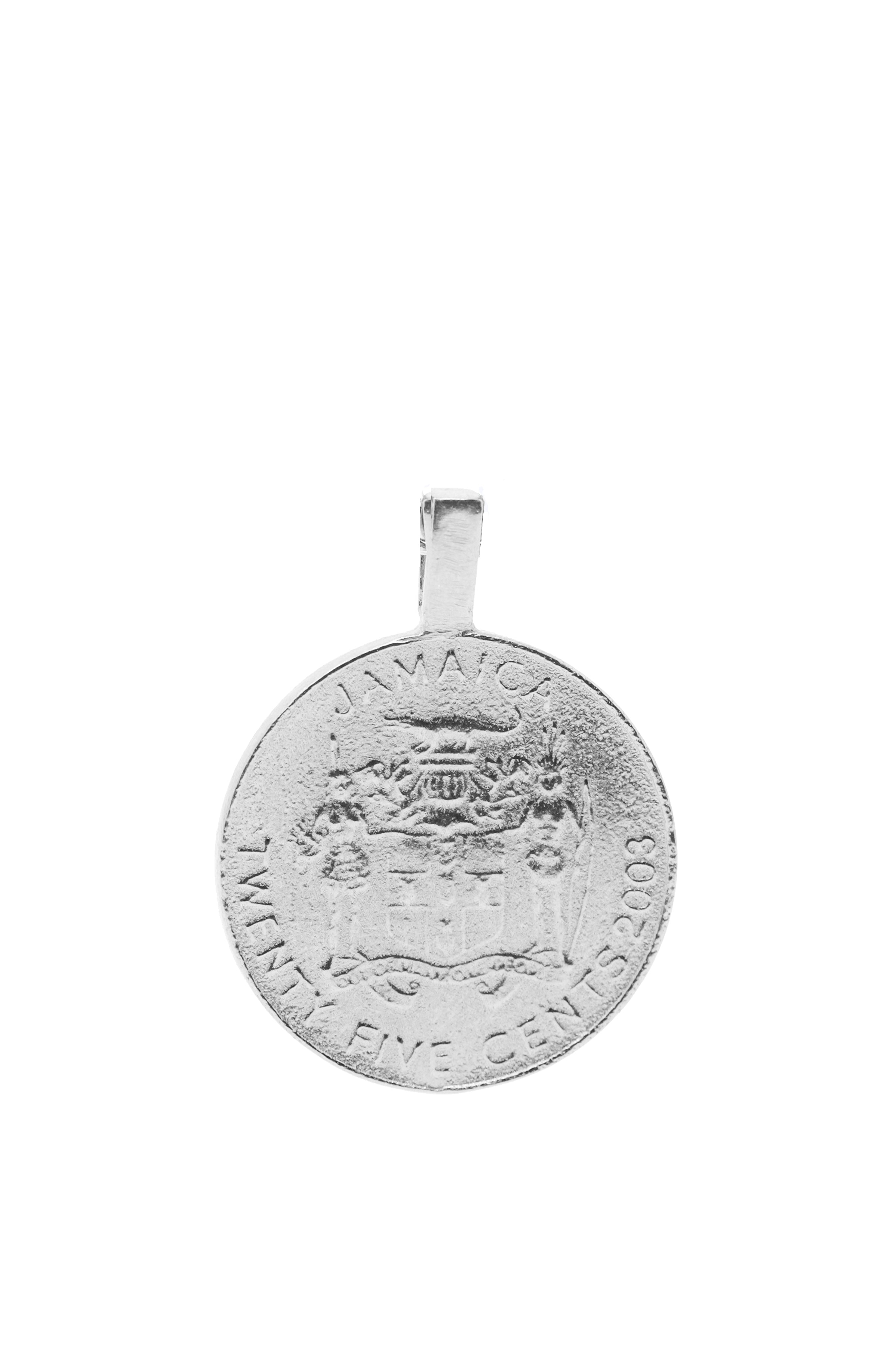 THE JAMAICA Garveyite Pendant in Silver