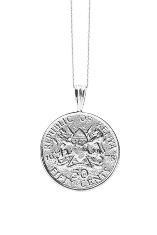 THE TRINIDAD and Tobago Hummingbird Coin Necklace