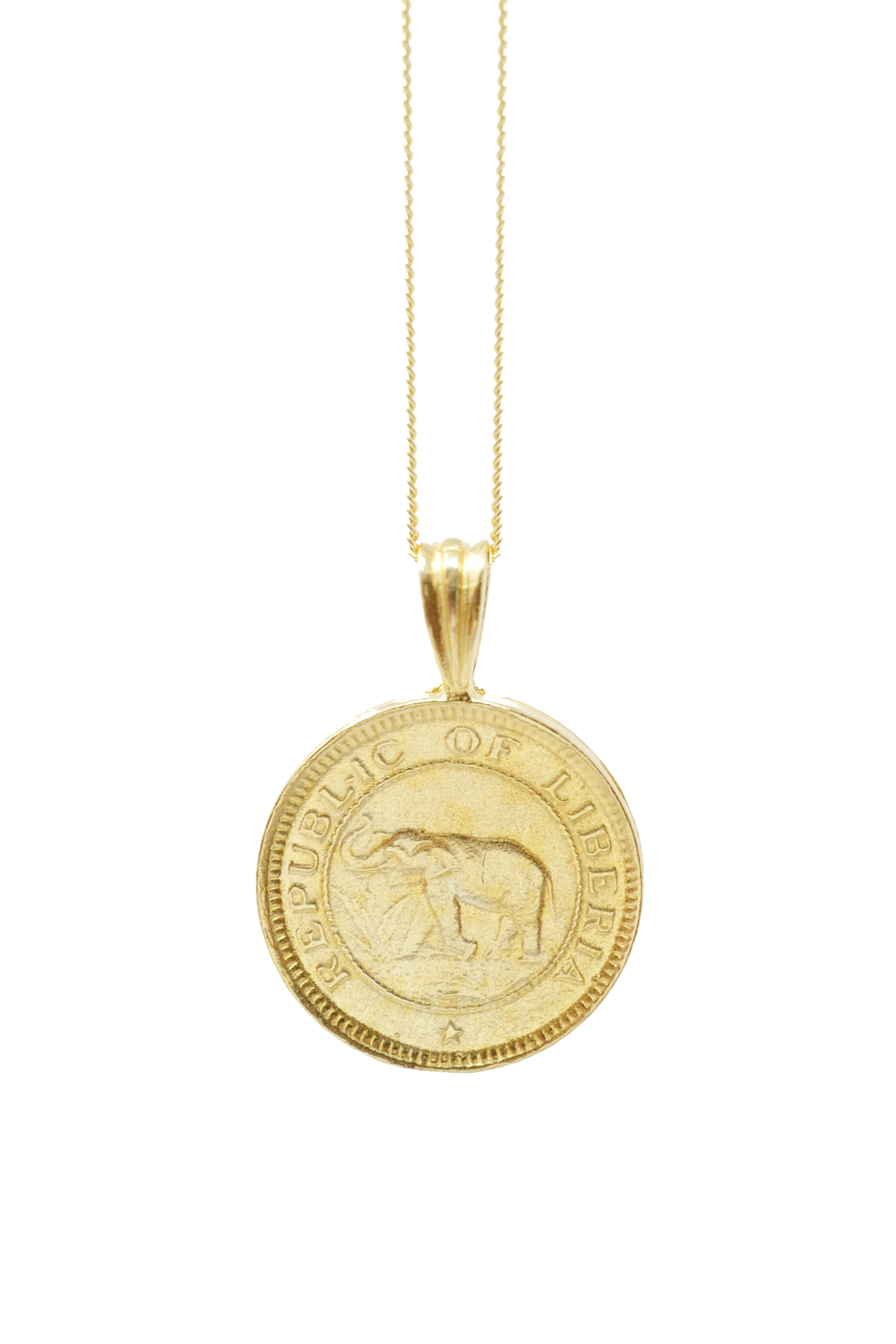 THE LIBERIA Coin Necklace