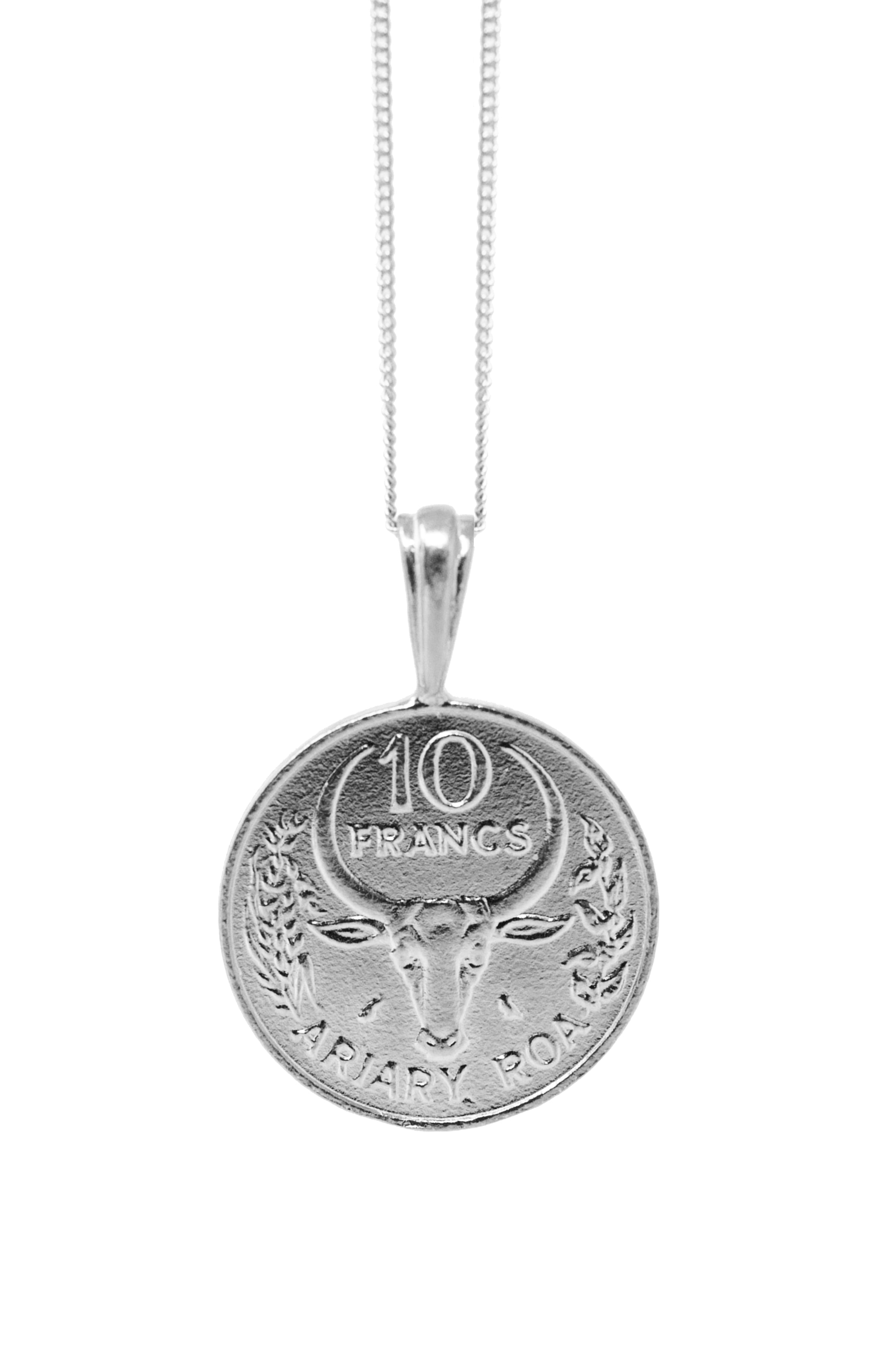 THE MADAGASCAR Vanilla Coin Necklace