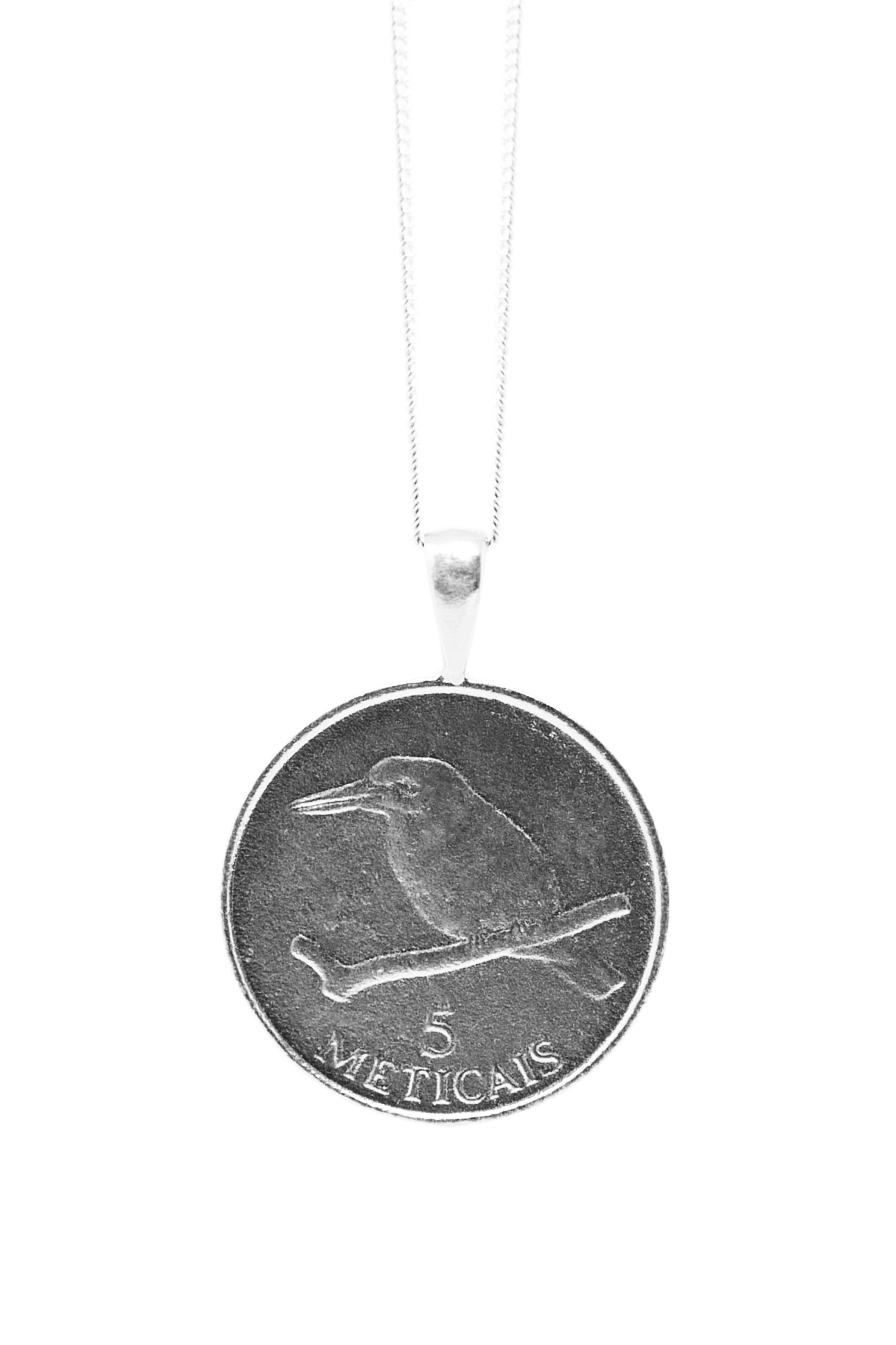 THE MOZAMBIQUE Coin Necklace