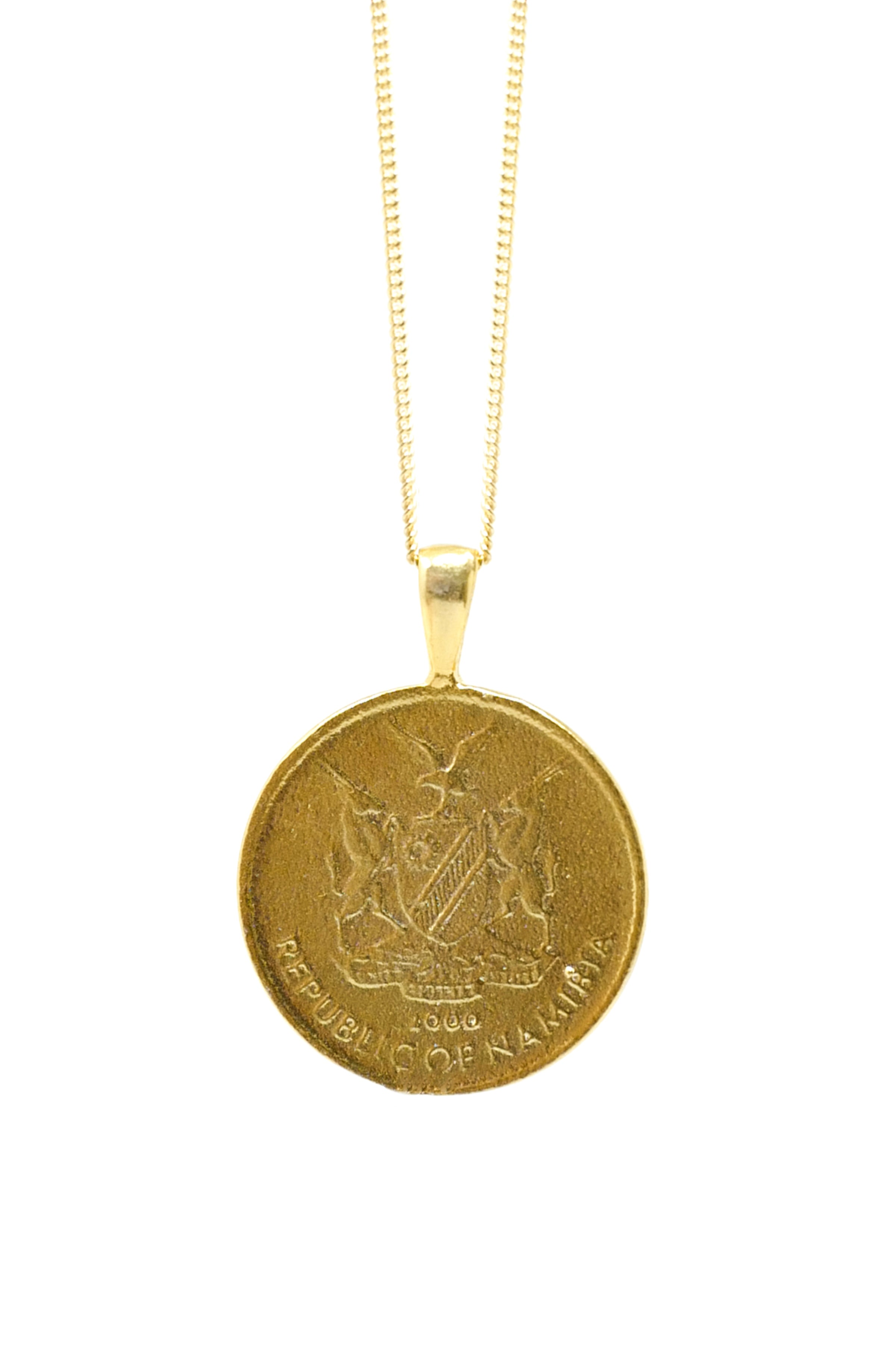 THE NAMIBIA Coin Necklace