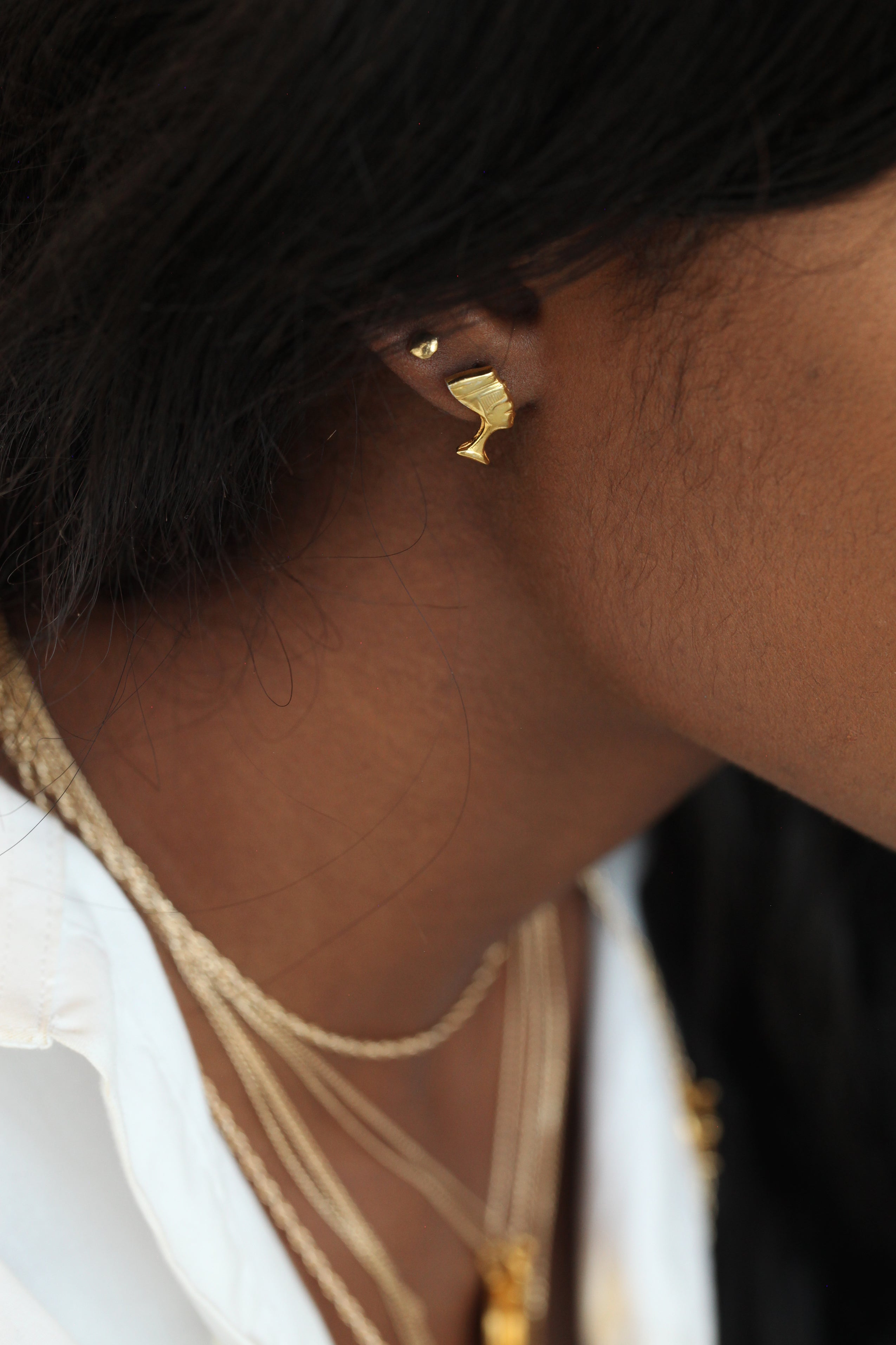 THE NEFERTITI Stud Earrings