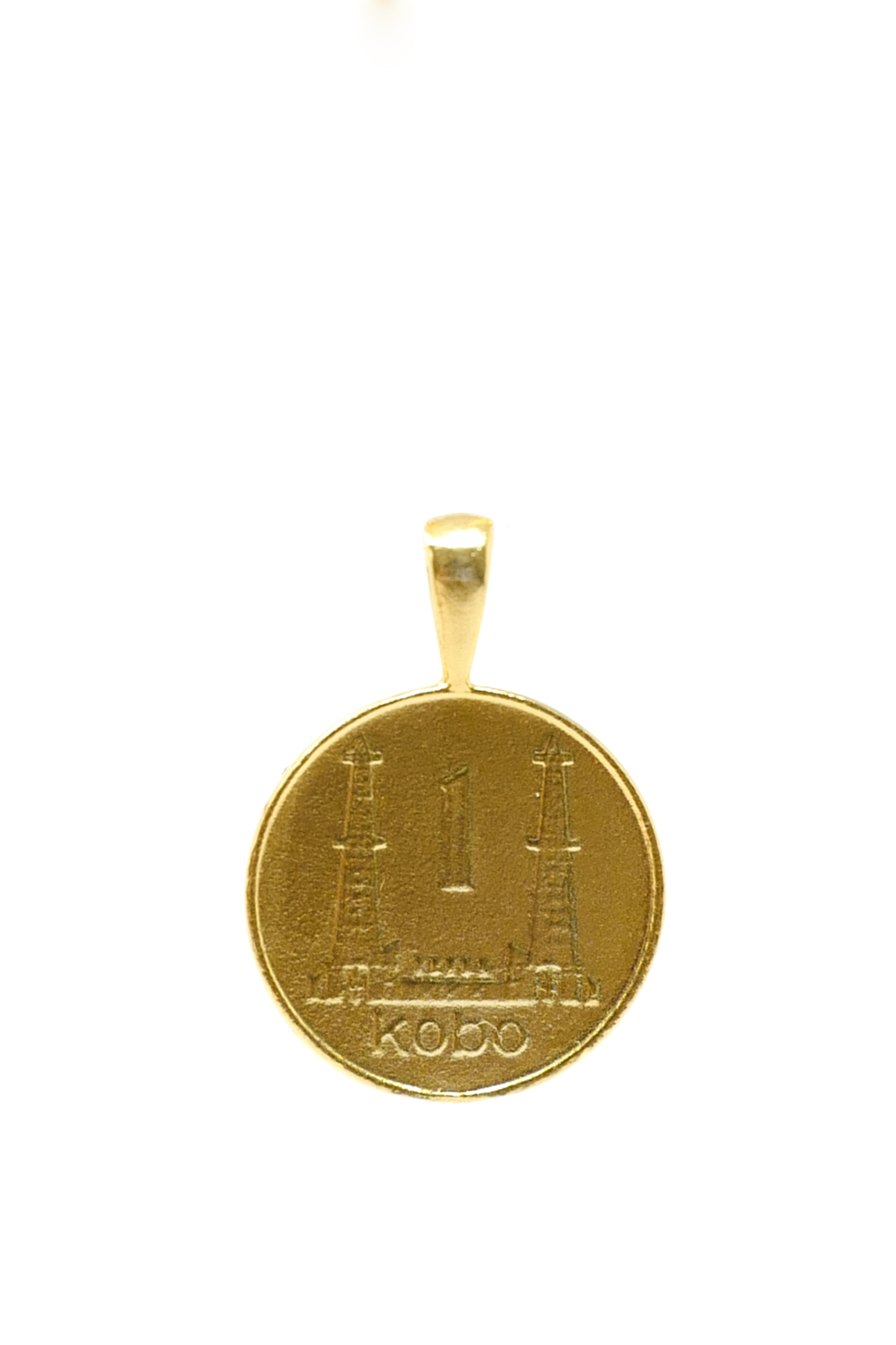 THE NIGERIA Kobo Coin Pendant