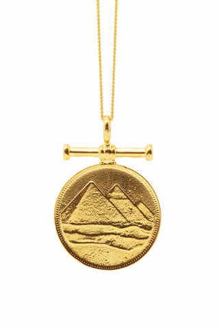 THE PYRAMID Charm Necklace