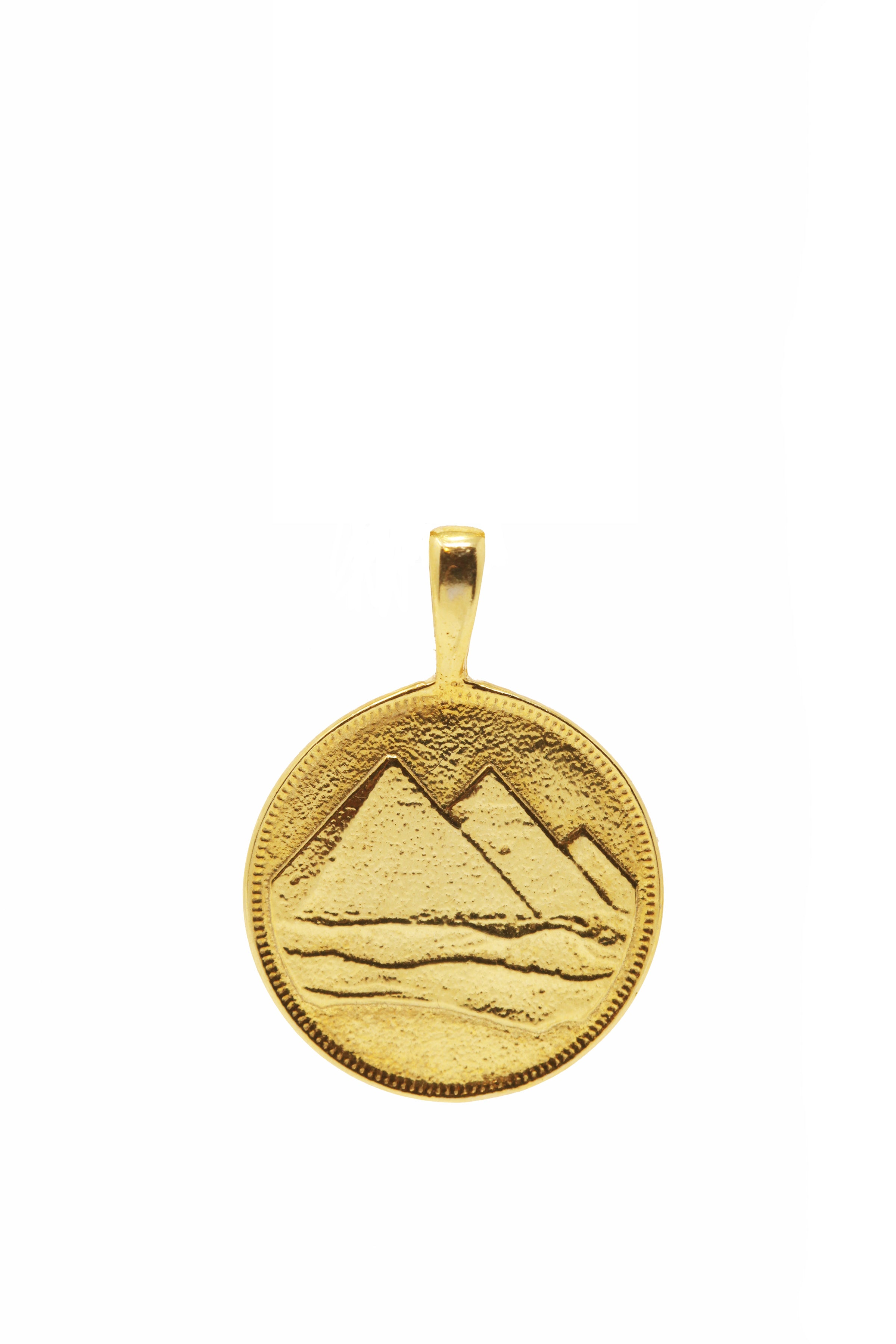 THE PYRAMID Coin Pendant