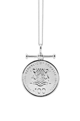 THE QUEEN of Sheba Bar Coin Necklace