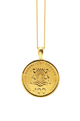 THE QUEEN of Sheba Classic Coin Necklace