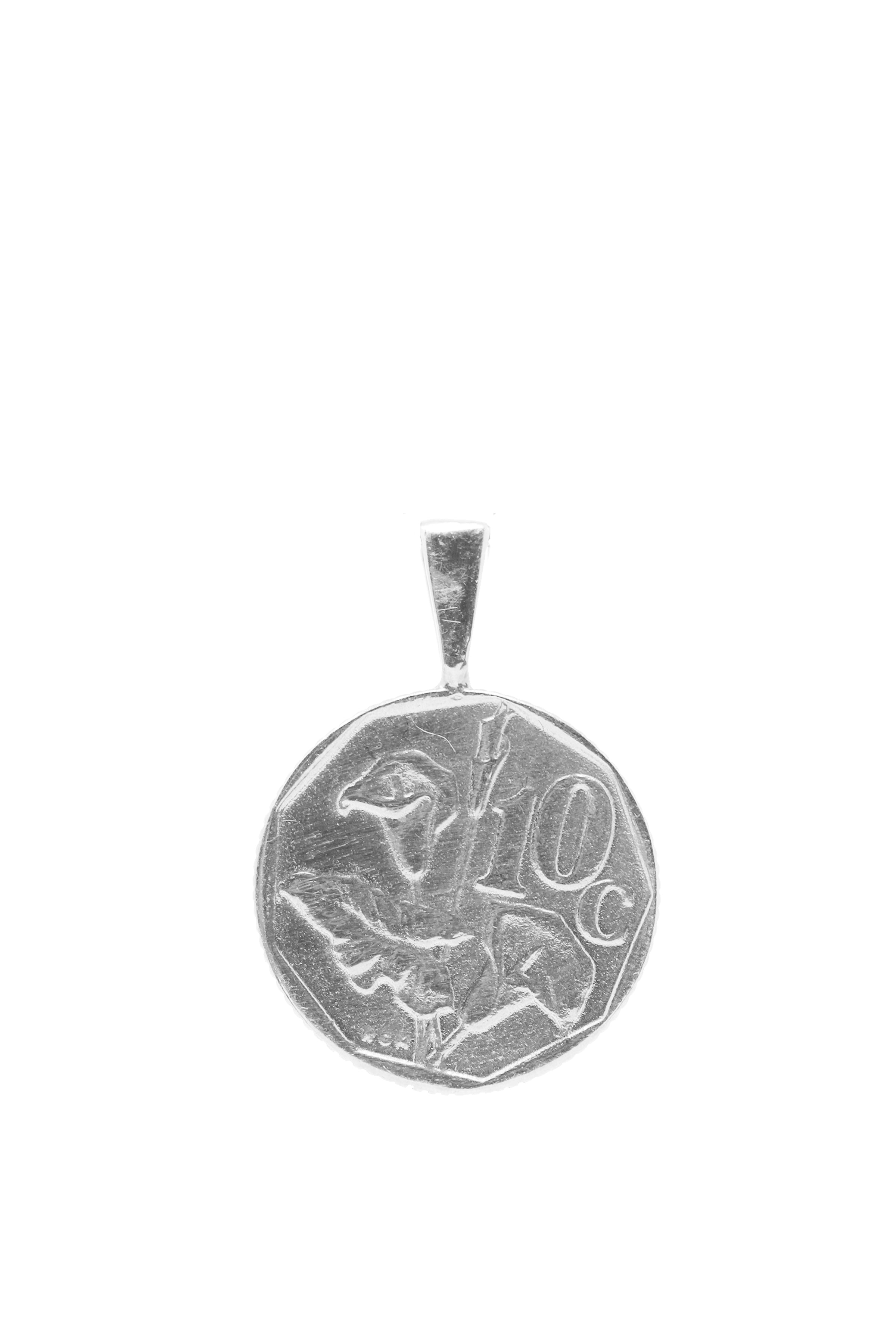 THE SOUTH Africa Lily Coin Pendant