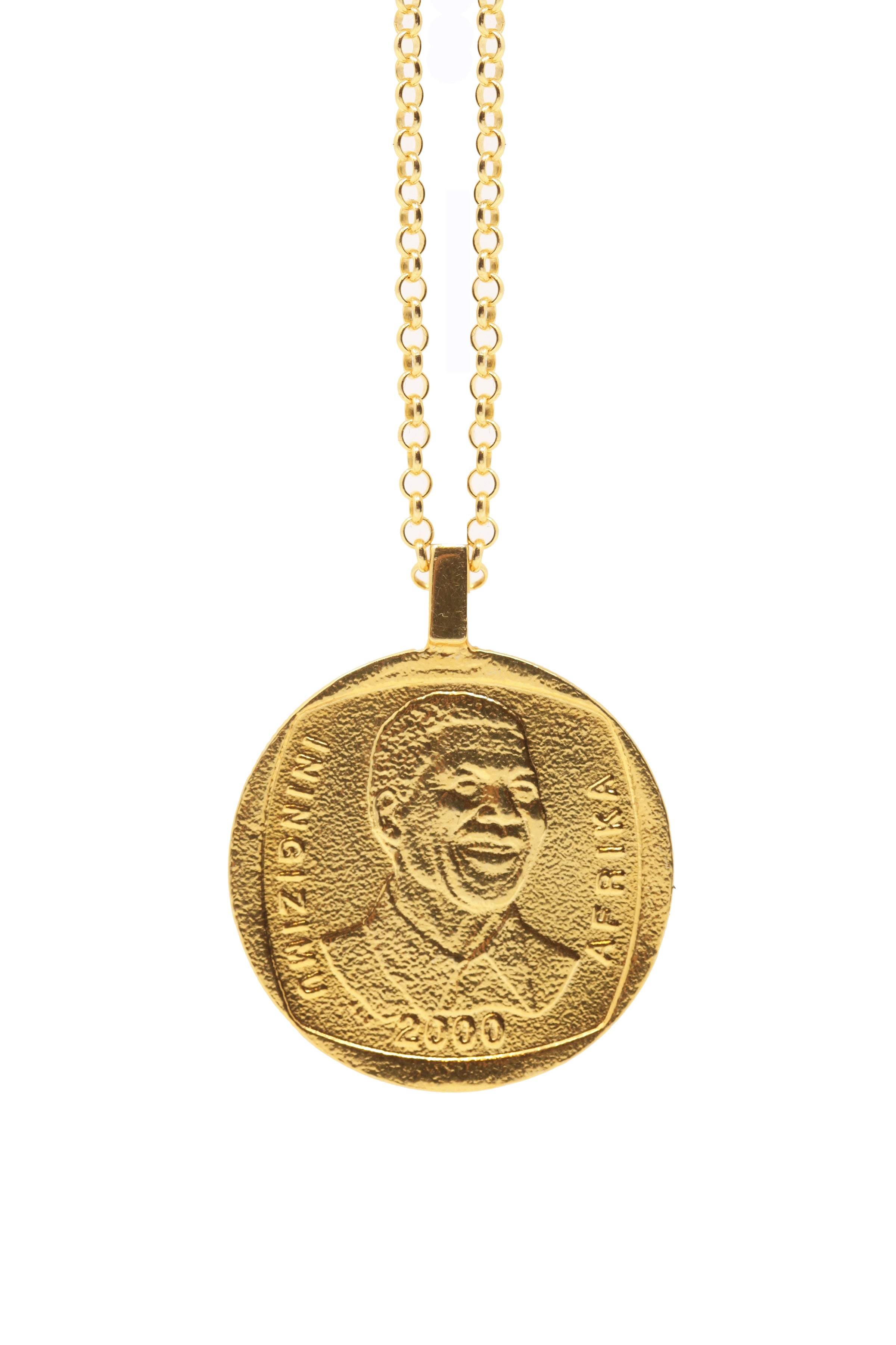 THE SOUTH Africa Mandela Necklace